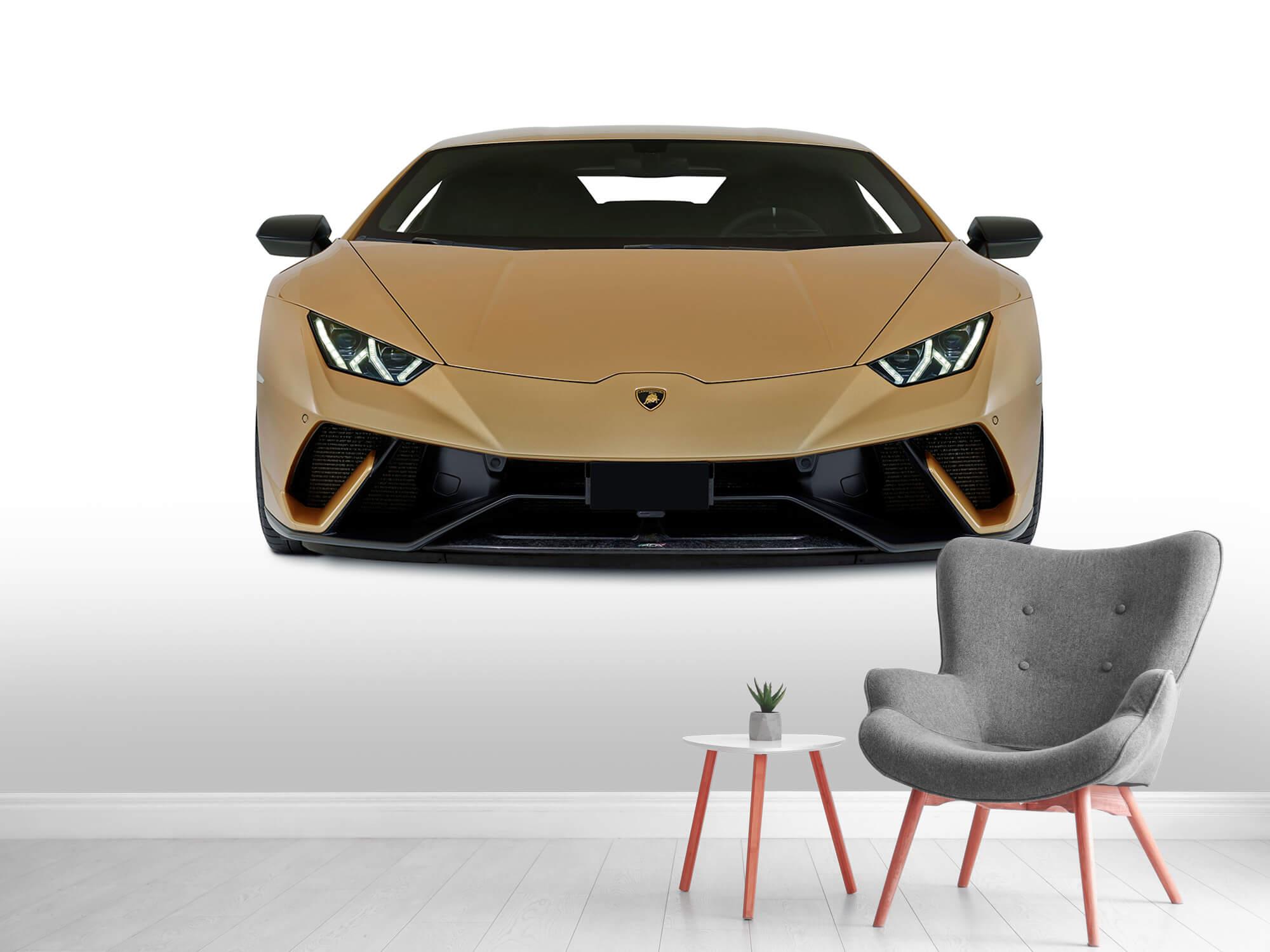 Wallpaper Lamborghini Huracán - Avant, blanc 8