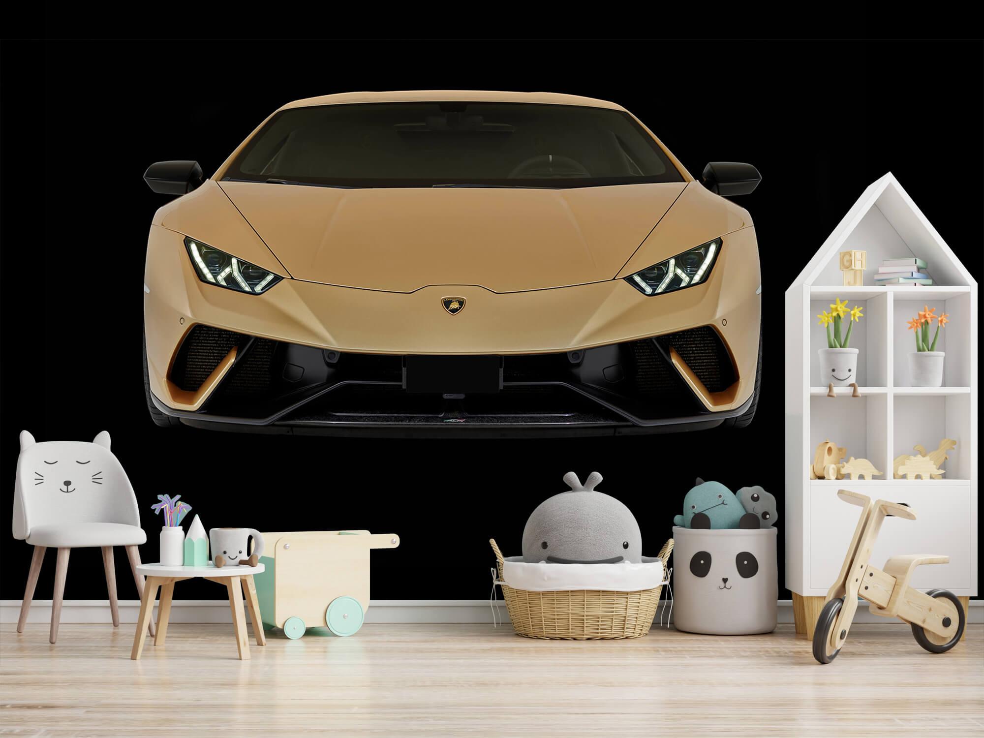 Wallpaper Lamborghini Huracán - Avant, noir 6