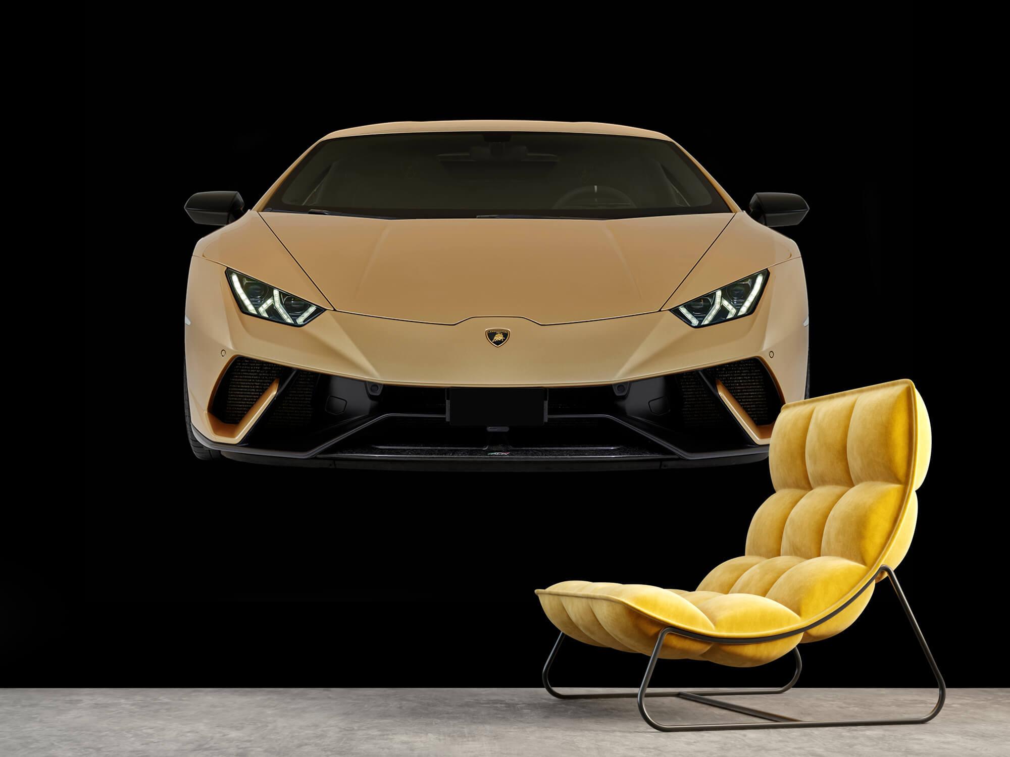 Wallpaper Lamborghini Huracán - Avant, noir 4