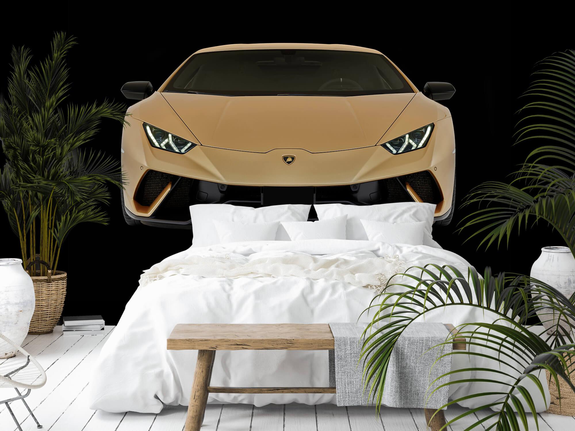 Wallpaper Lamborghini Huracán - Avant, noir 11