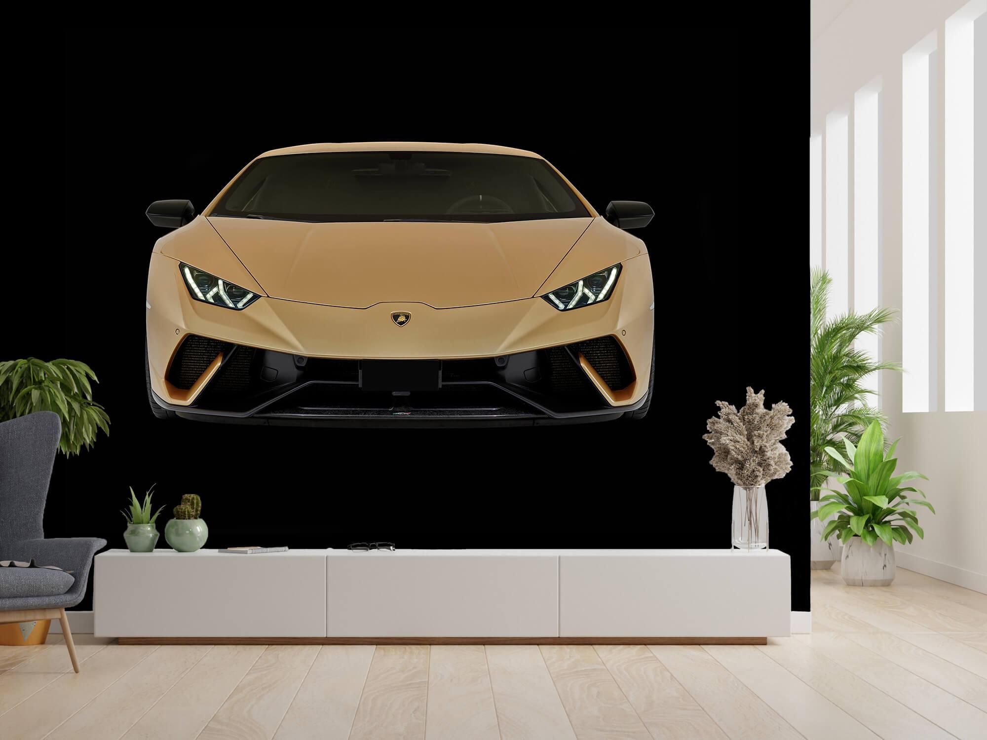 Wallpaper Lamborghini Huracán - Avant, noir 2
