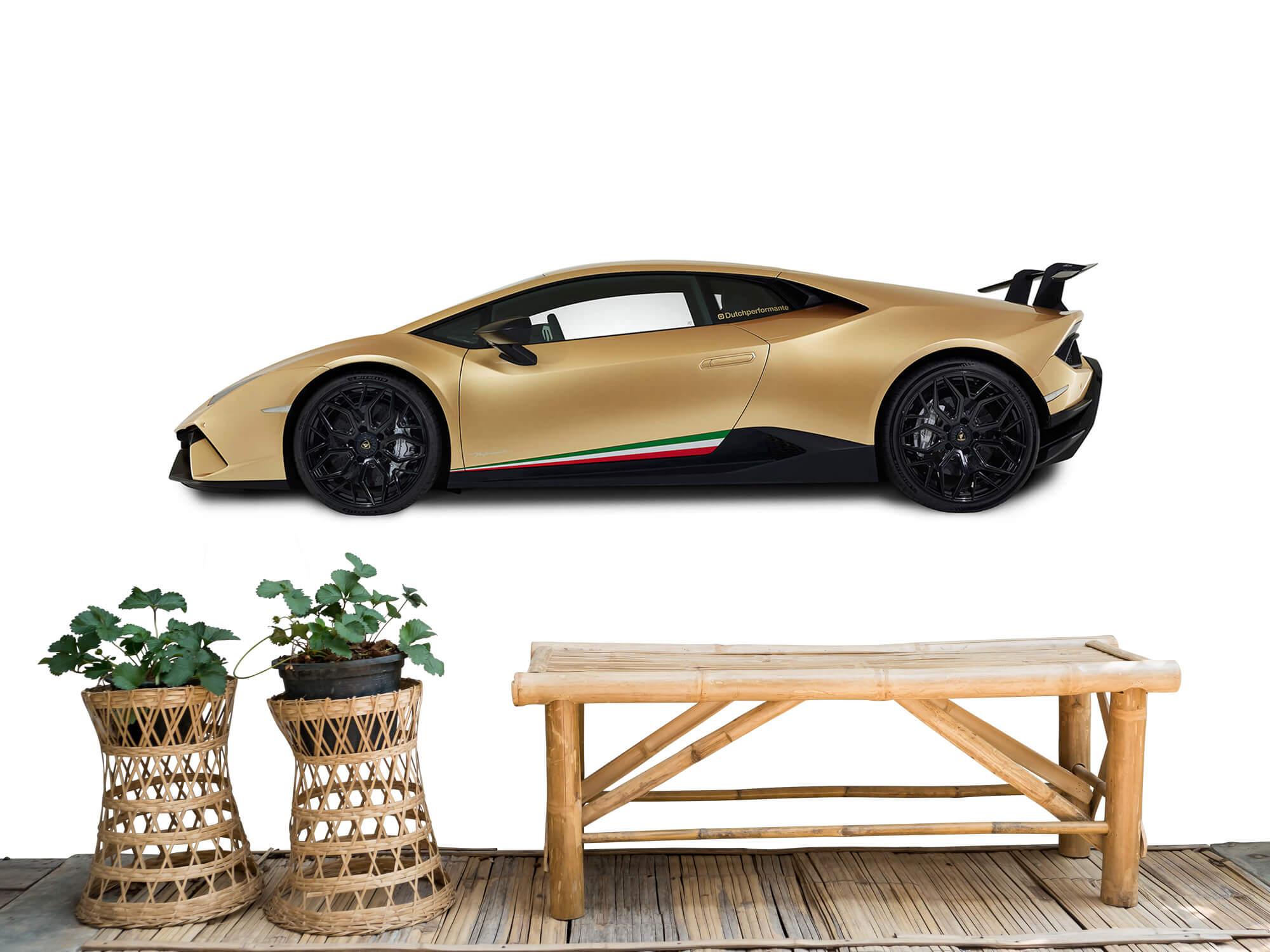 Wallpaper Lamborghini Huracán - Côté, blanc 7