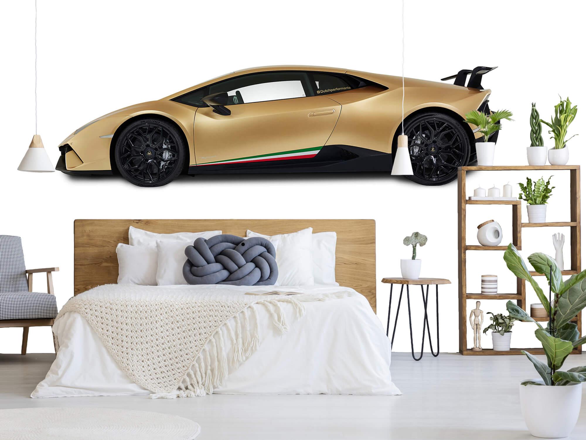 Wallpaper Lamborghini Huracán - Côté, blanc 8
