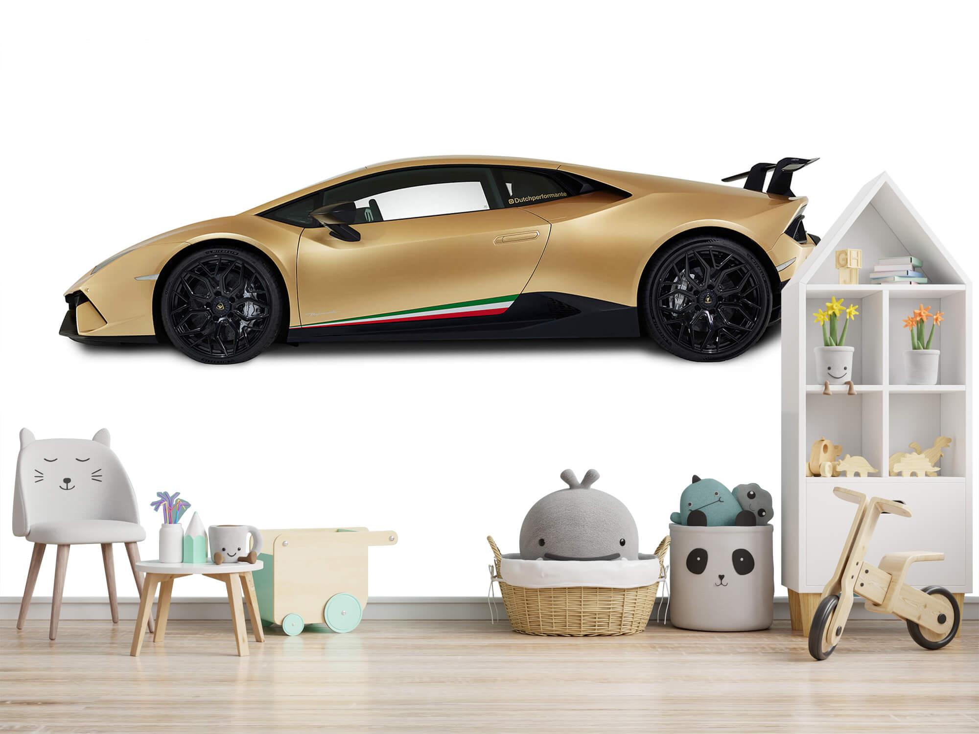 Wallpaper Lamborghini Huracán - Côté, blanc 10