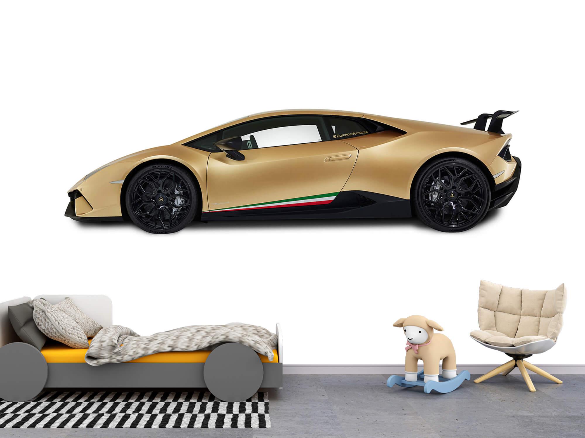 Wallpaper Lamborghini Huracán - Côté, blanc 11