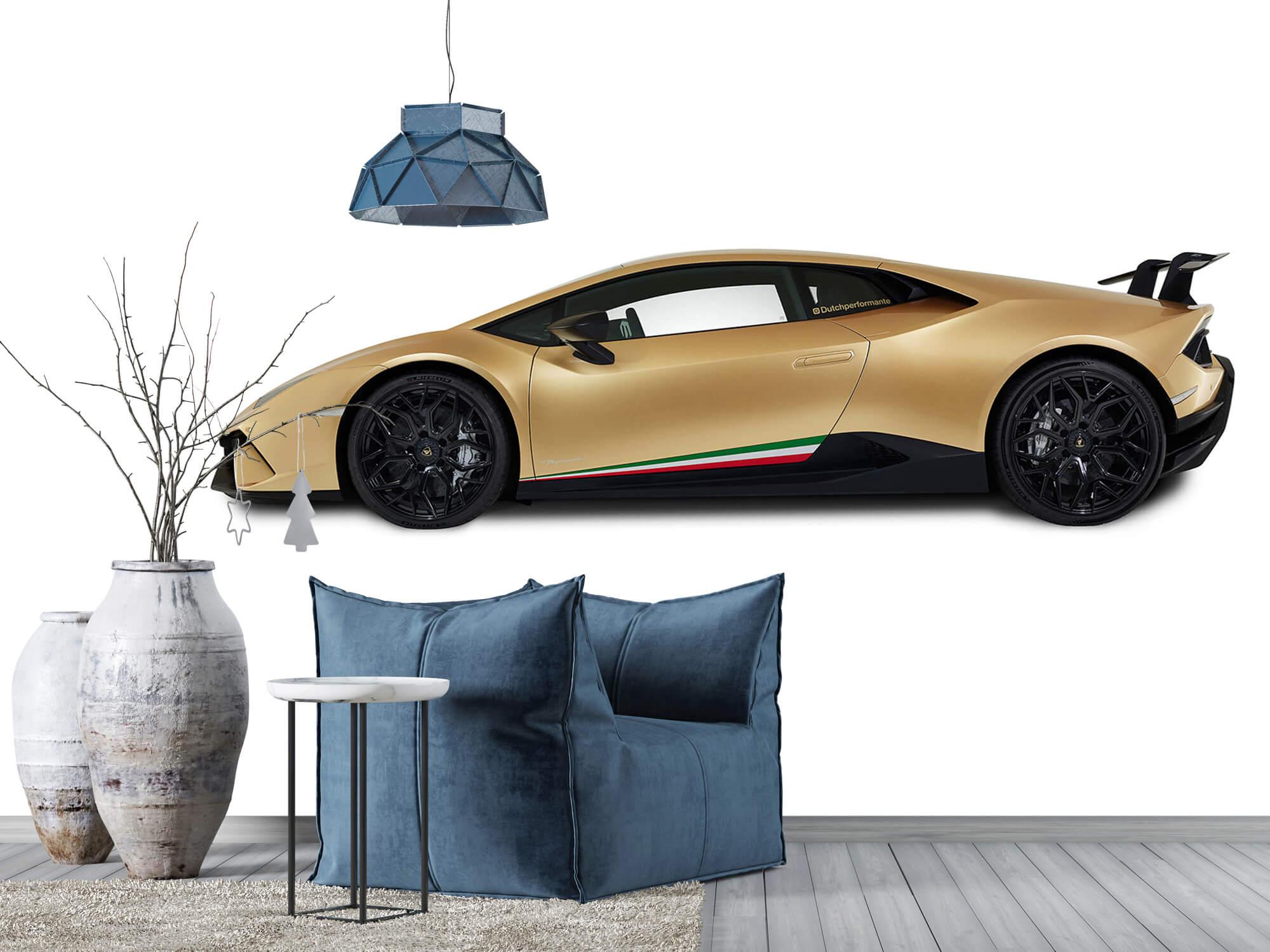 Wallpaper Lamborghini Huracán - Côté, blanc 12