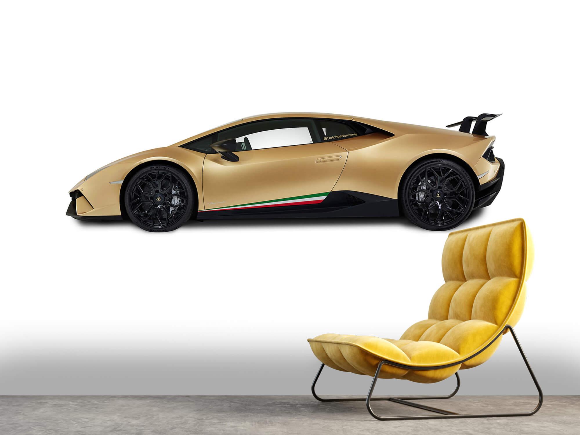 Wallpaper Lamborghini Huracán - Côté, blanc 2