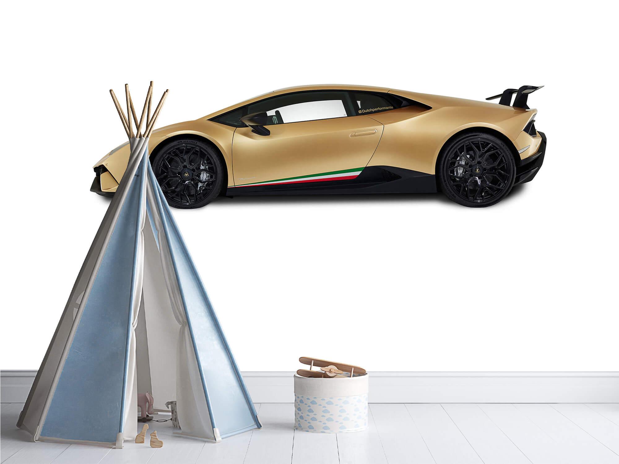 Wallpaper Lamborghini Huracán - Côté, blanc 4