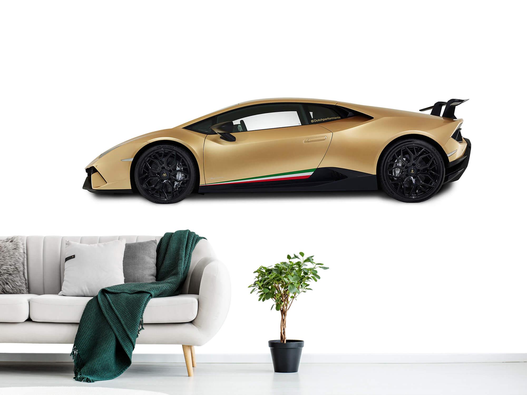 Wallpaper Lamborghini Huracán - Côté, blanc 1