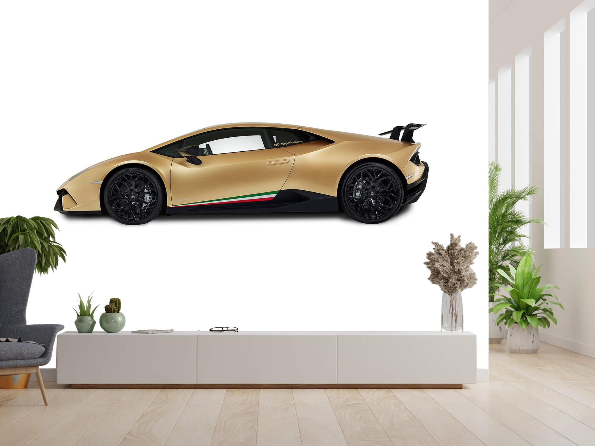 Wallpaper Lamborghini Huracán - Côté, blanc 6