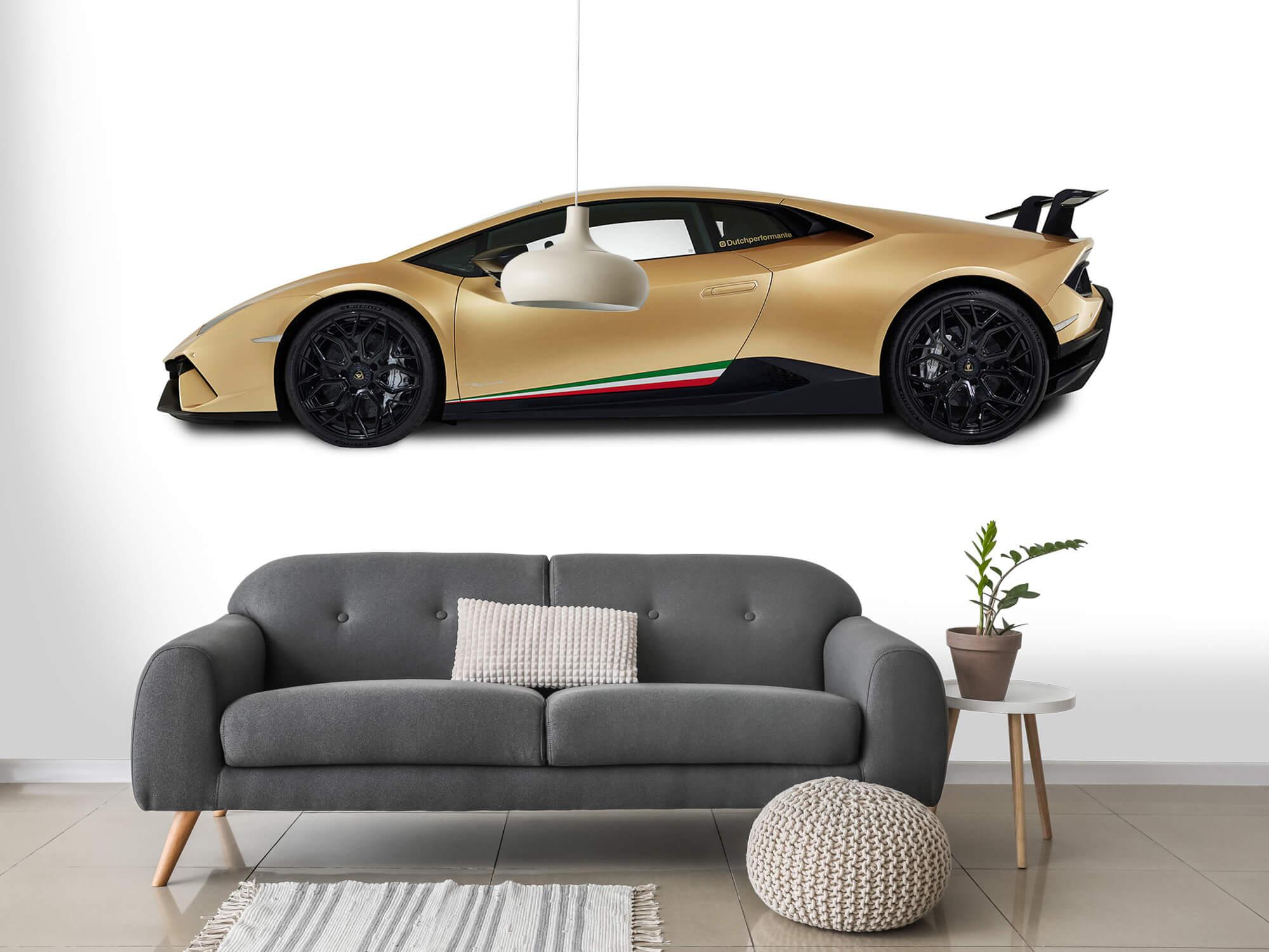 Wallpaper Lamborghini Huracán - Côté, blanc 15