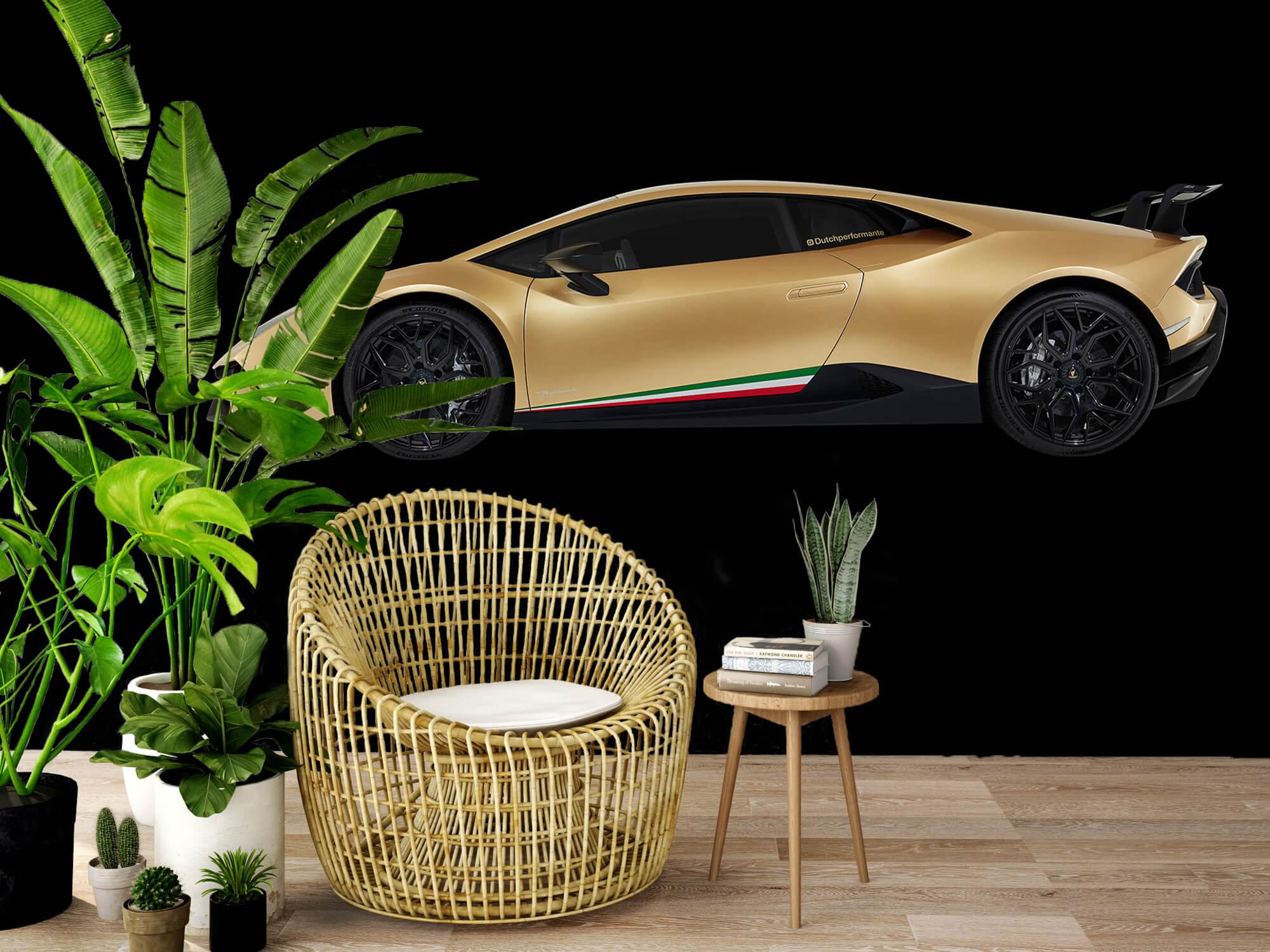 Wallpaper Lamborghini Huracán - Côté, noir 7