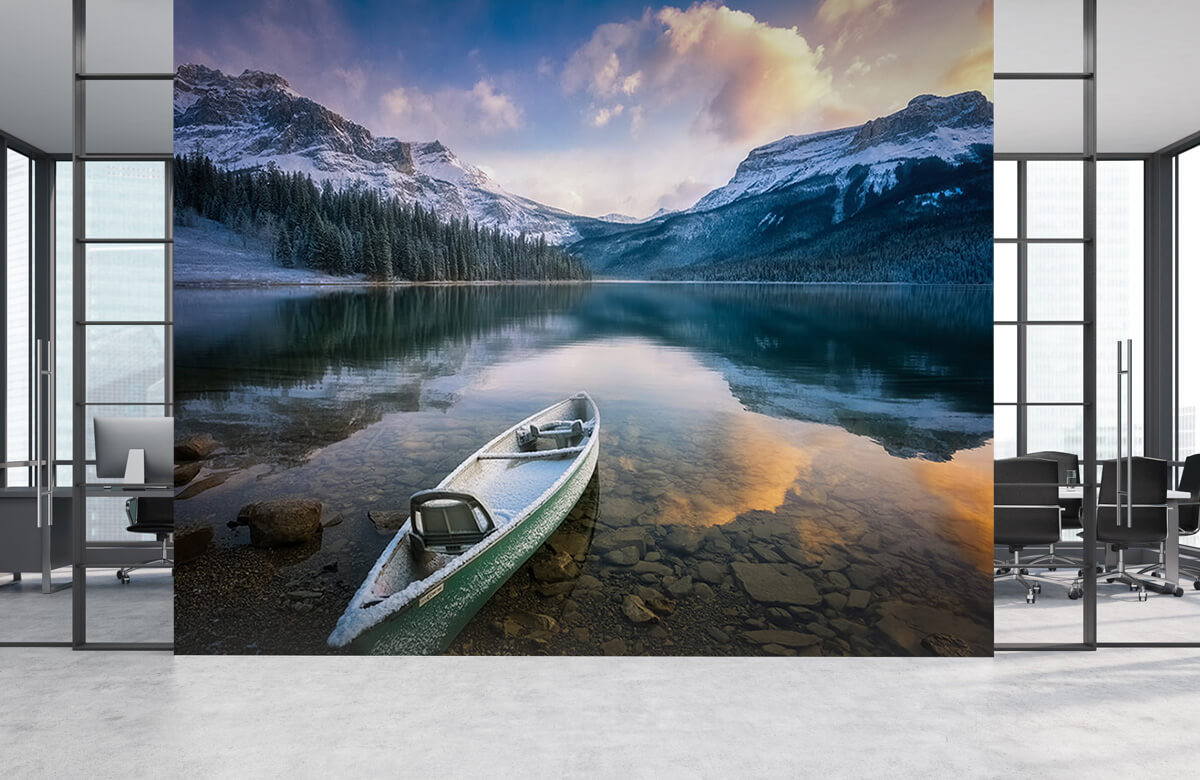 First Snow Emerald Lake 5
