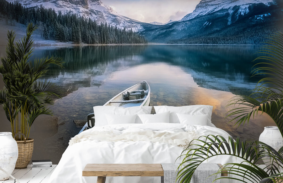 First Snow Emerald Lake 10