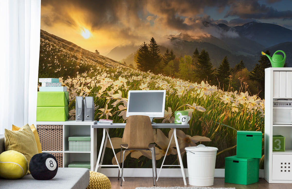 Landscape White carpet 10