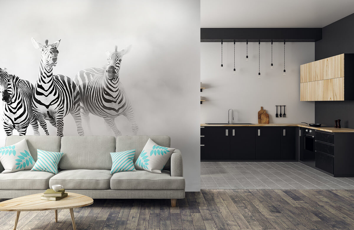 Wilde dieren Zebras 9