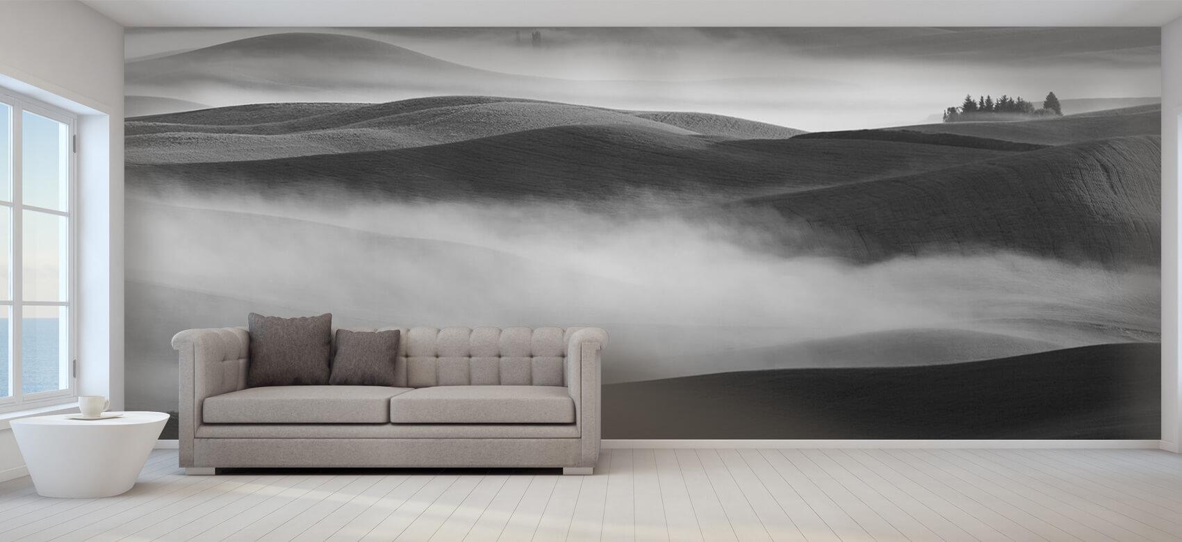 Landschap Dream Land in Morning Mist 9