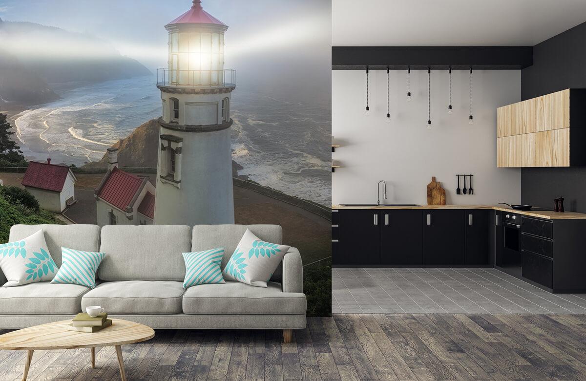 Architecture Heceta Head Lighthouse 8
