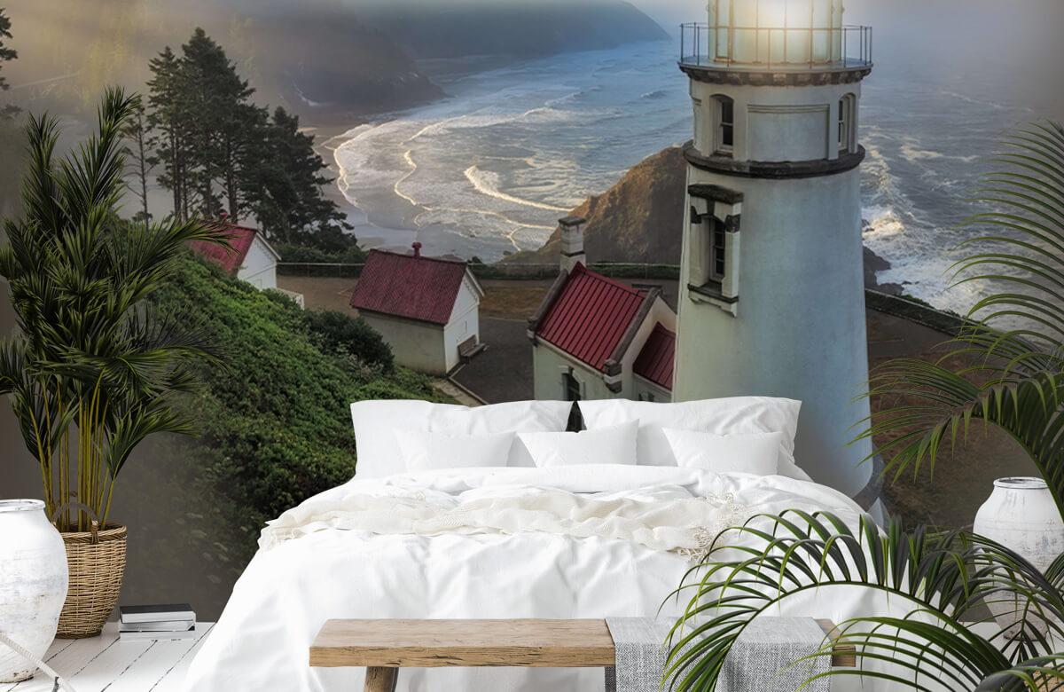 Architecture Heceta Head Lighthouse 6