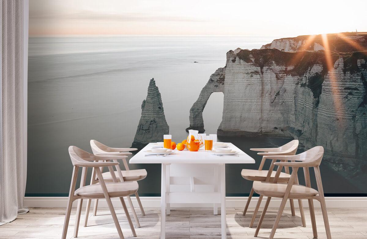 Wallpaper Soleil matinal sur la côte 5
