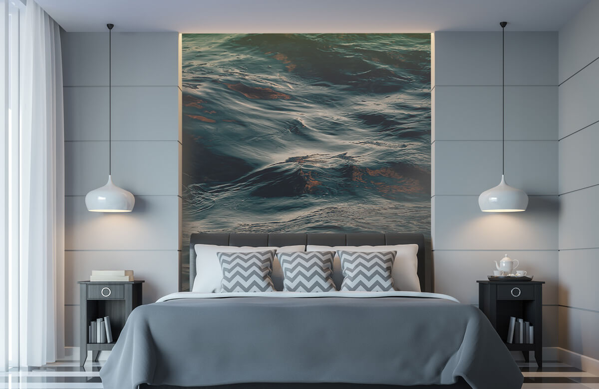 Wallpaper Les vagues de l'océan 8