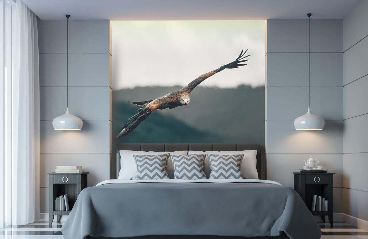 Wallpaper Cerf-volant rouge 2
