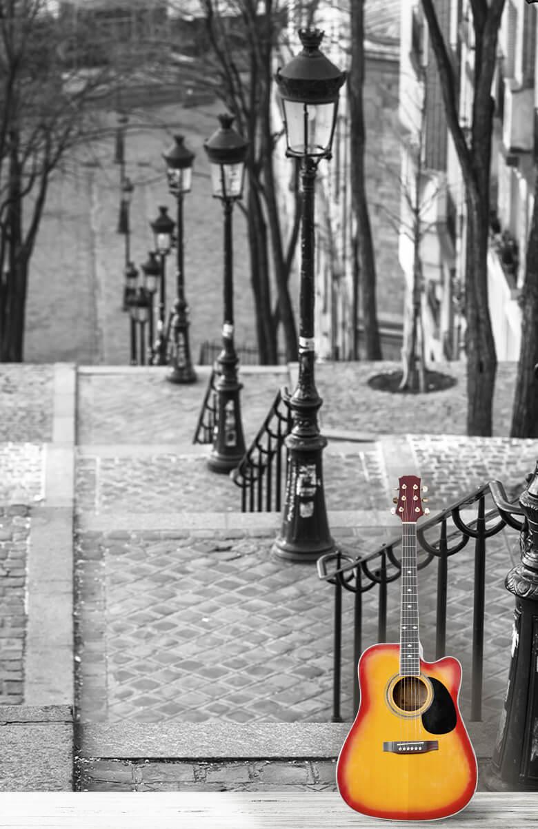 Les célèbres escaliers de Montmartre 3