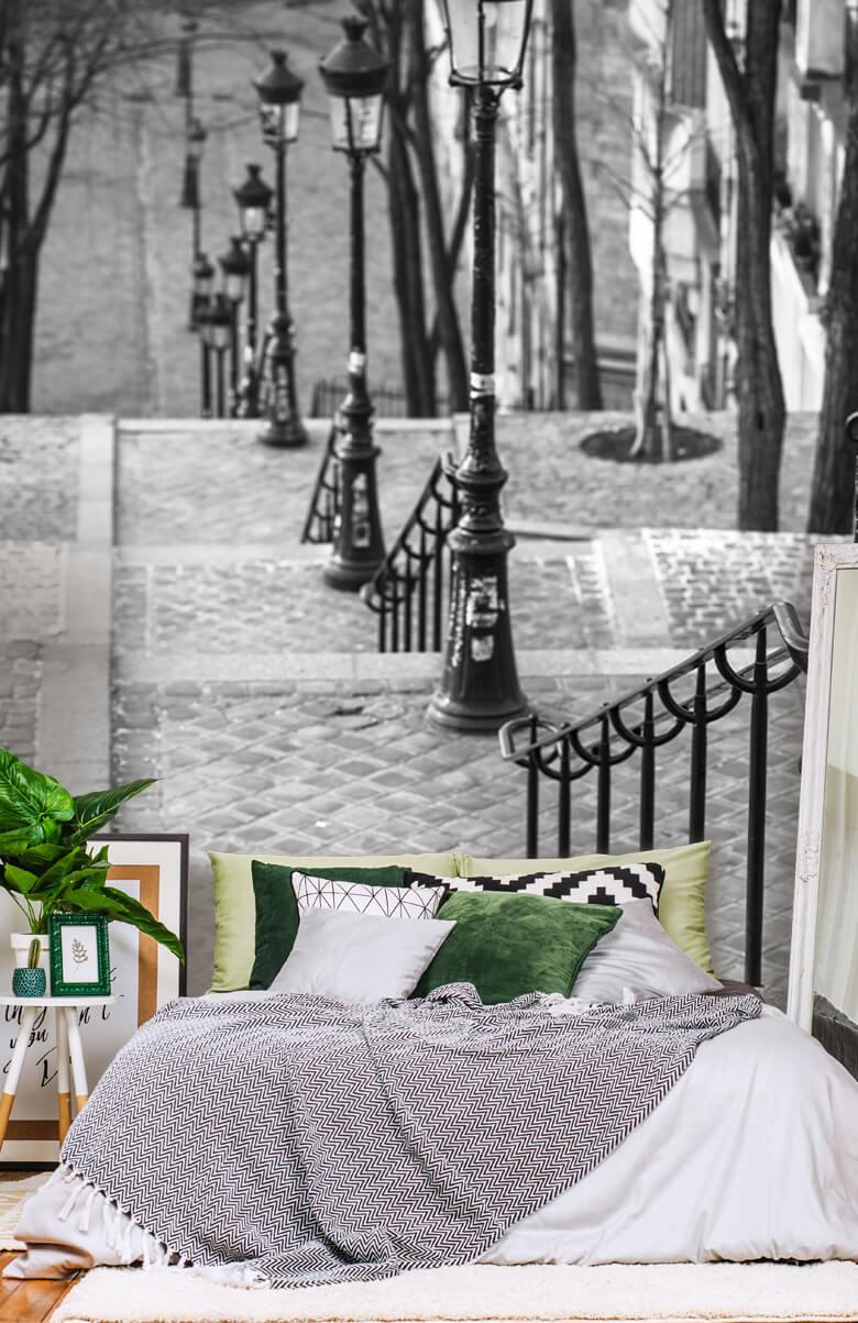Les célèbres escaliers de Montmartre 2