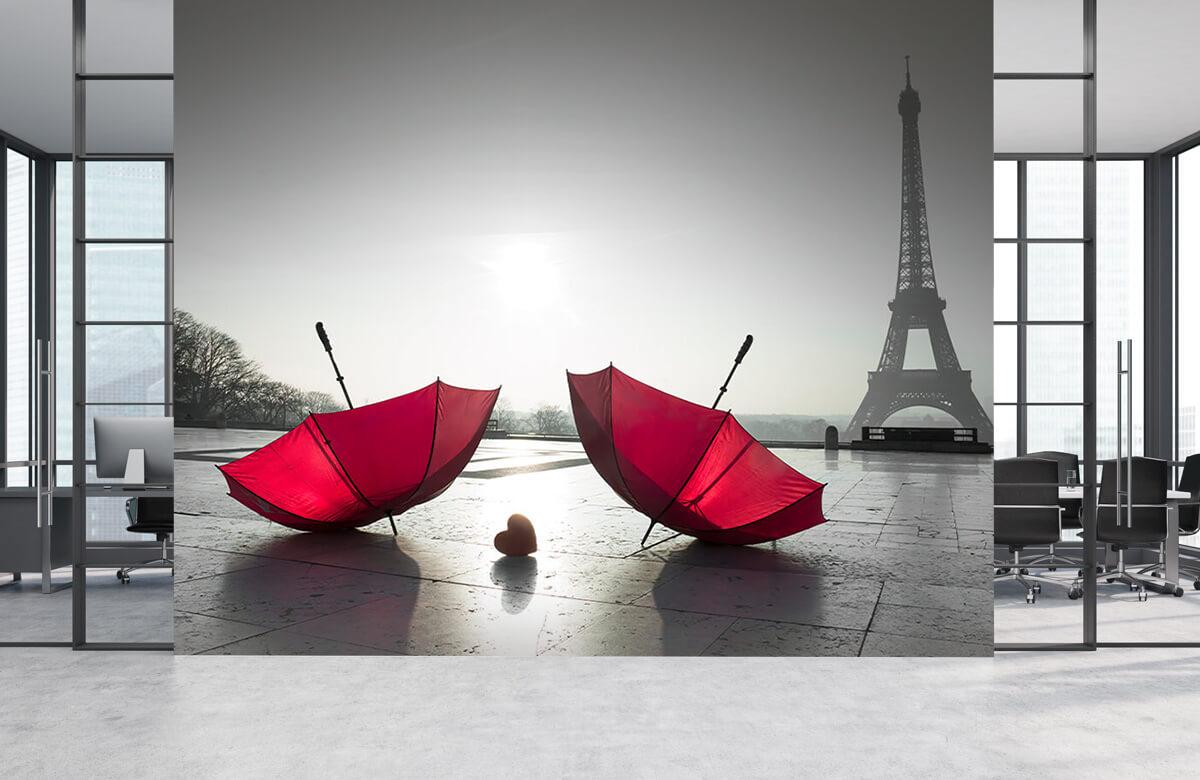 Parapluies rouges 7