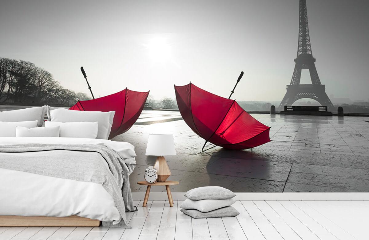 Parapluies rouges 3