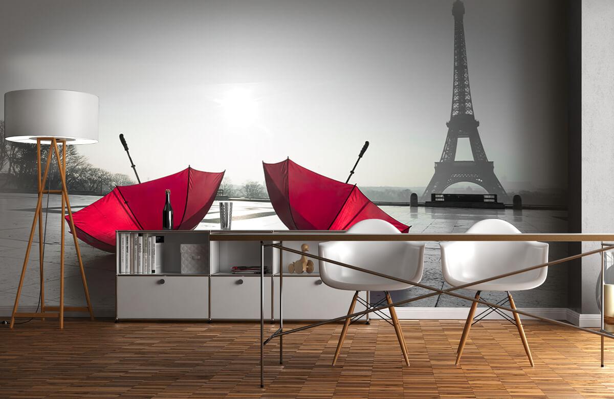 Parapluies rouges 6