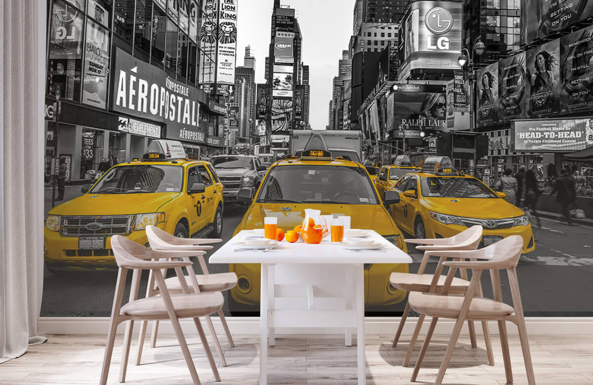 Taxi sur Broadway 2