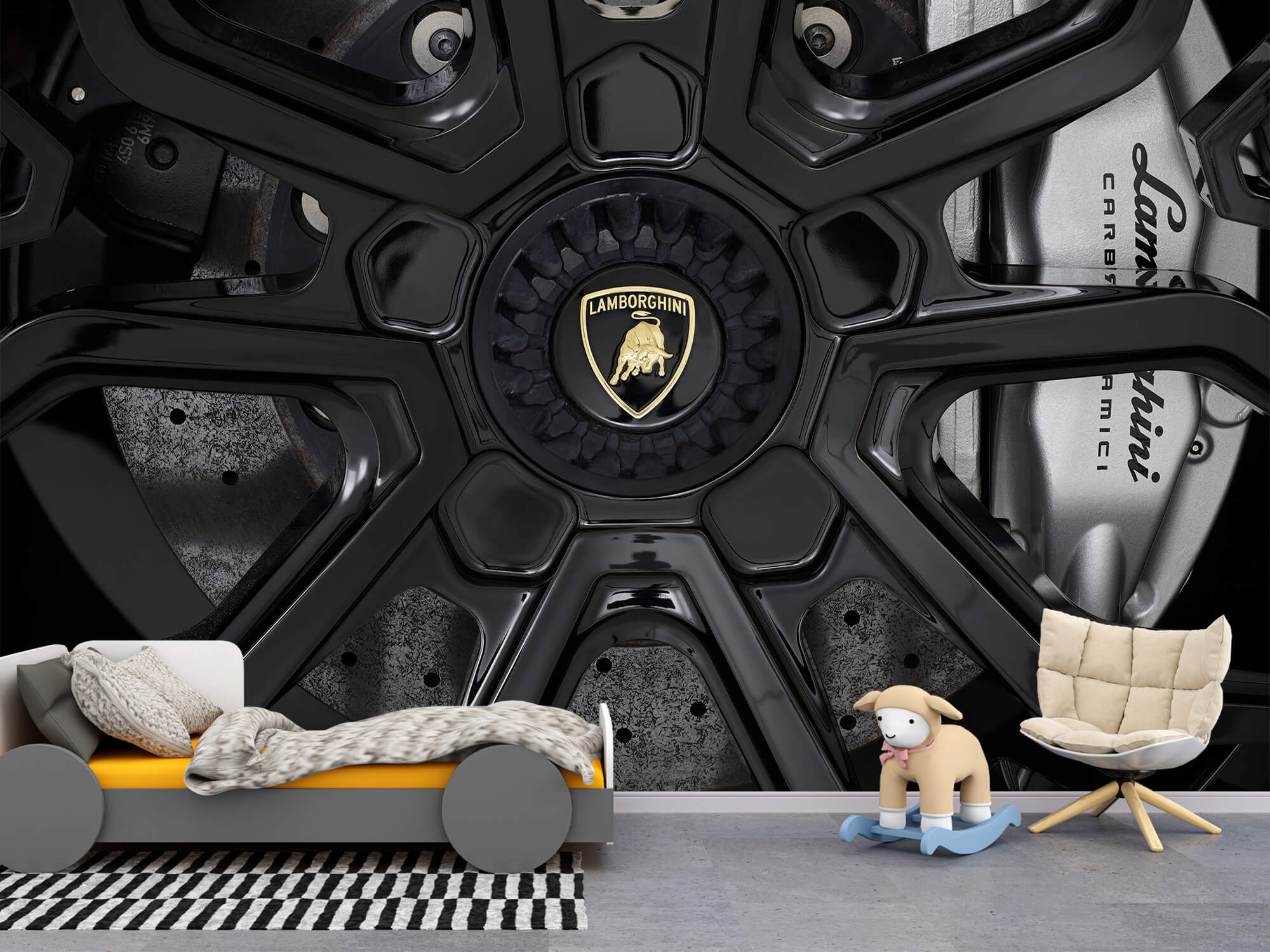 Pattern Lamborghini Huracán - Roue 2