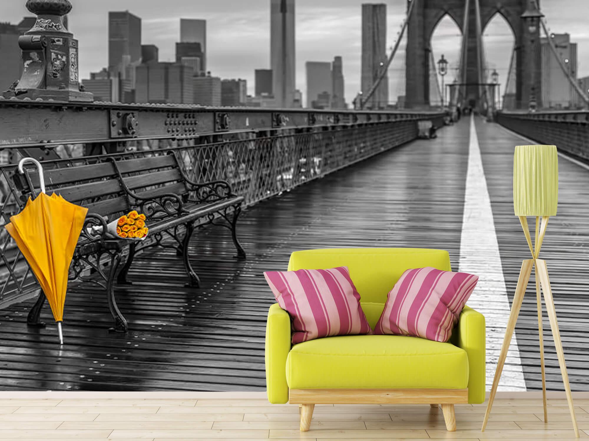 Parapluie jaune 14