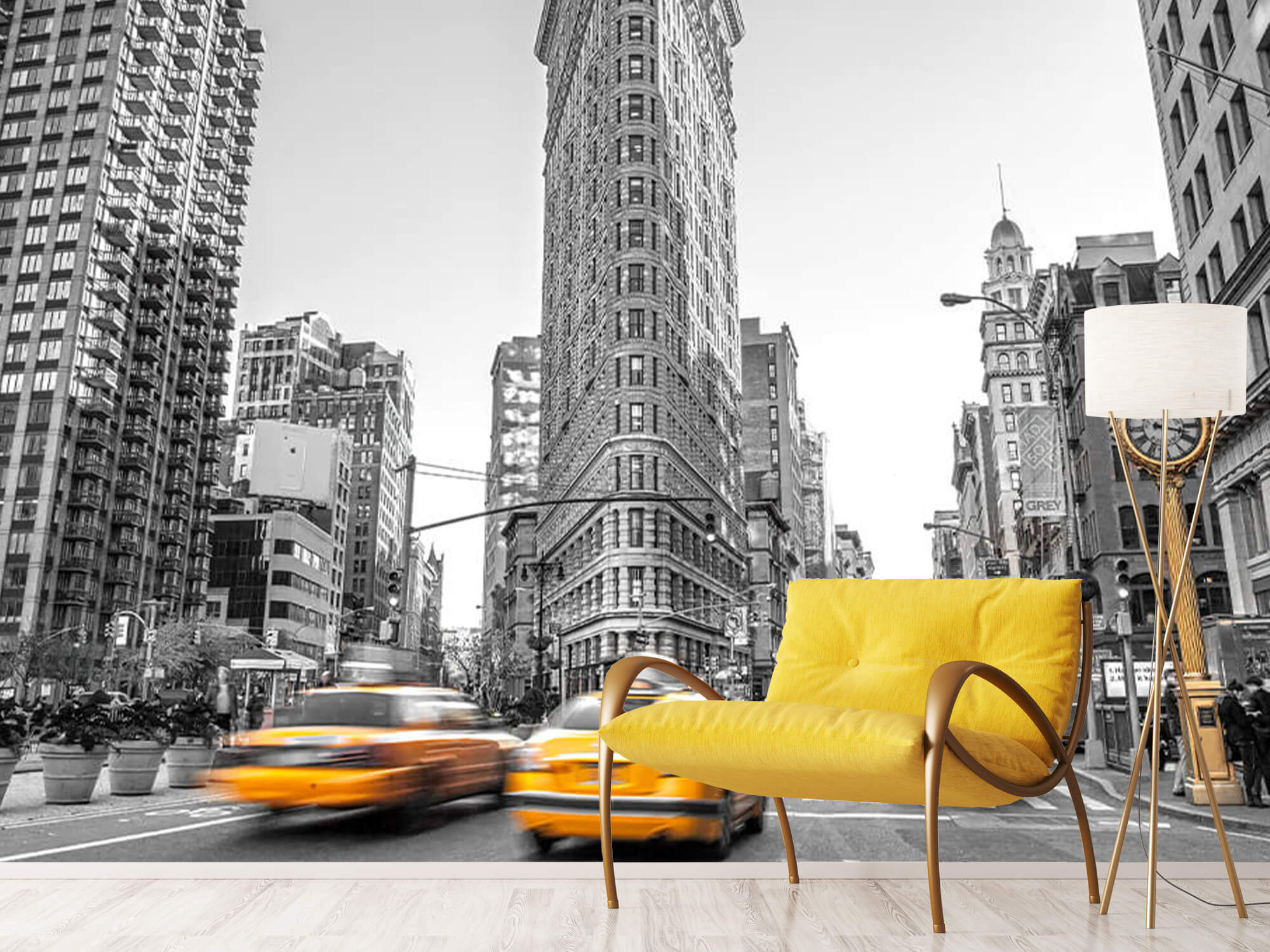 Rue animée à New York 13