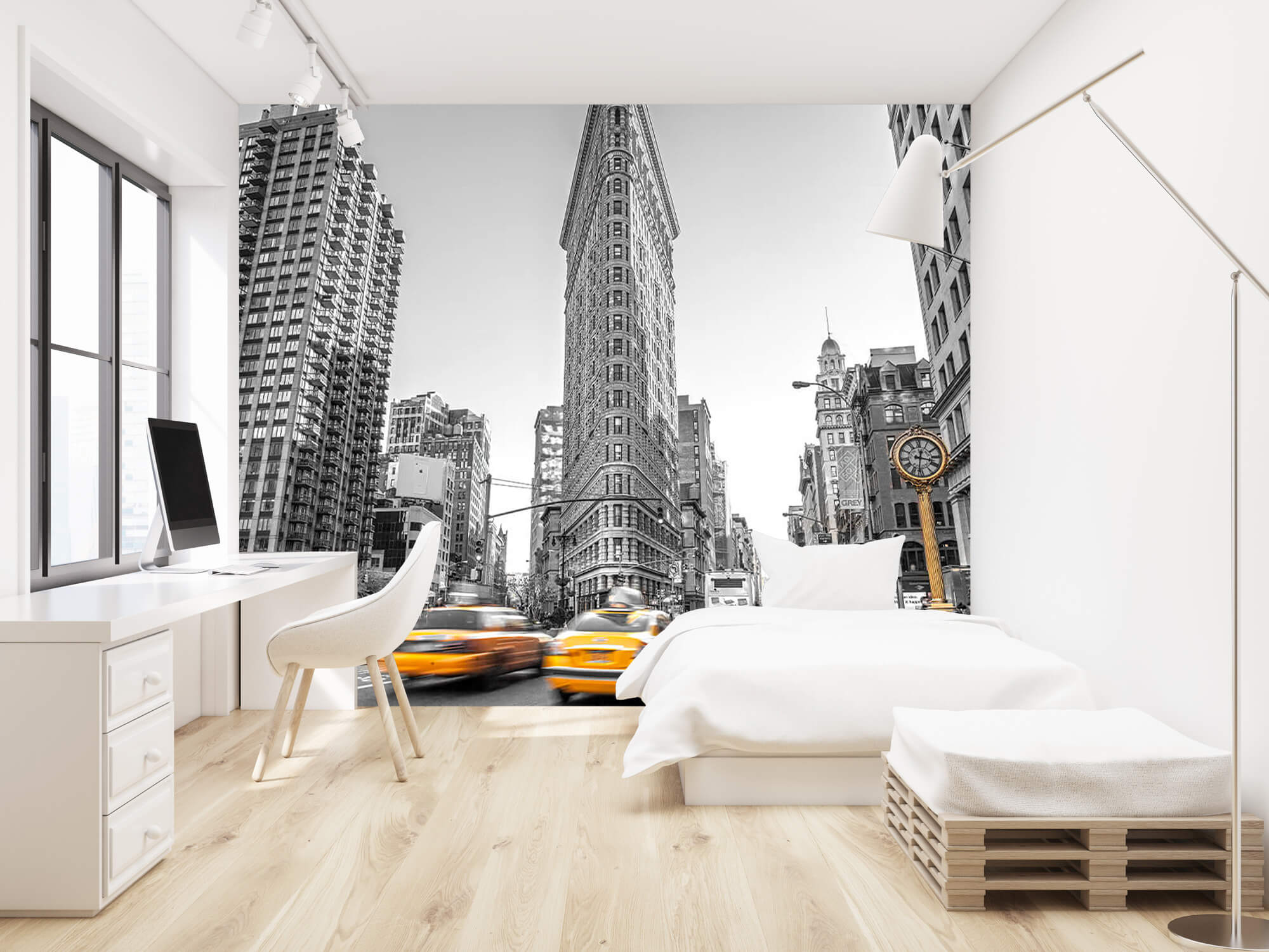 Rue animée à New York 1
