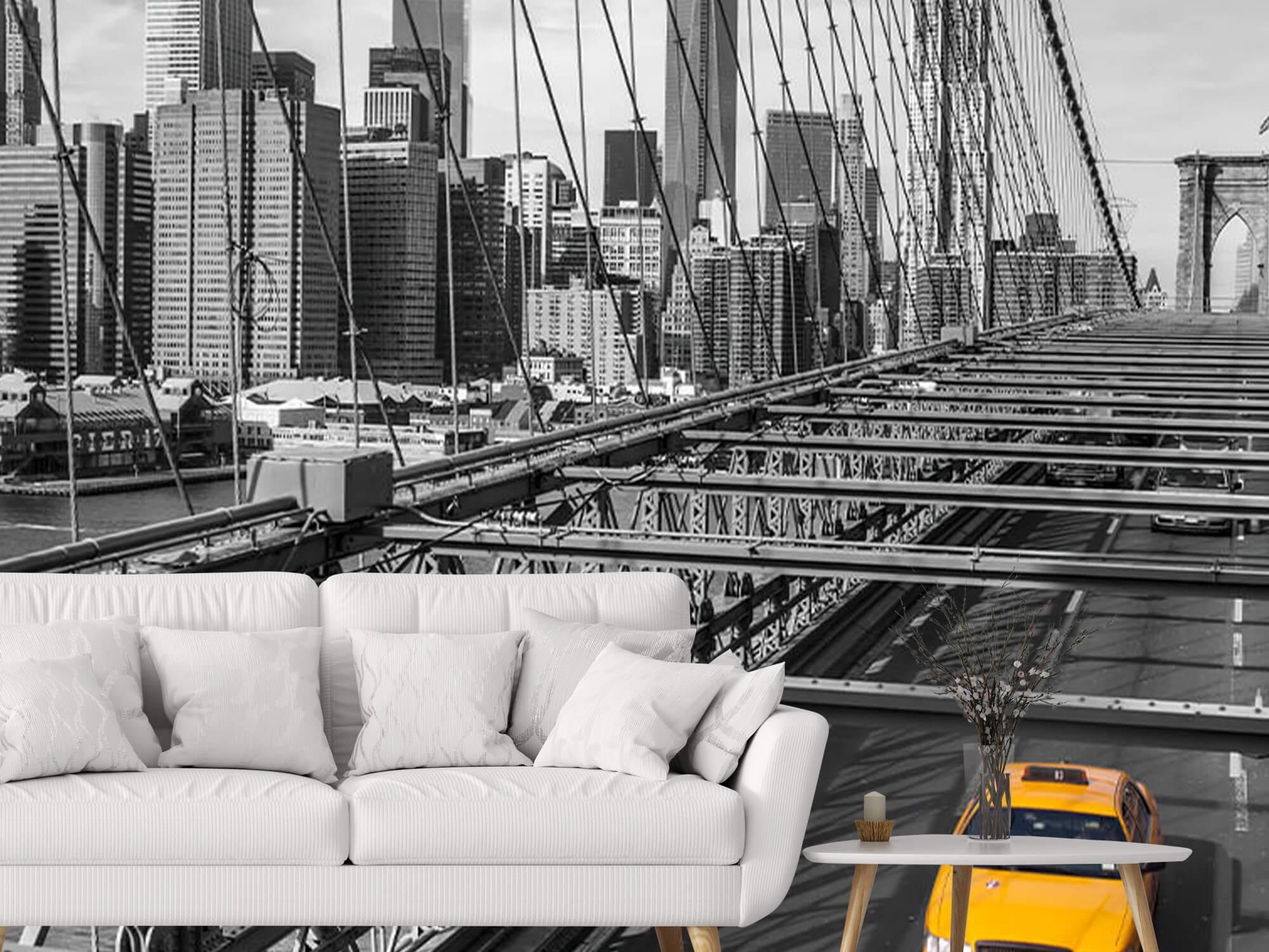 Un taxi sur le pont de Brooklyn 4