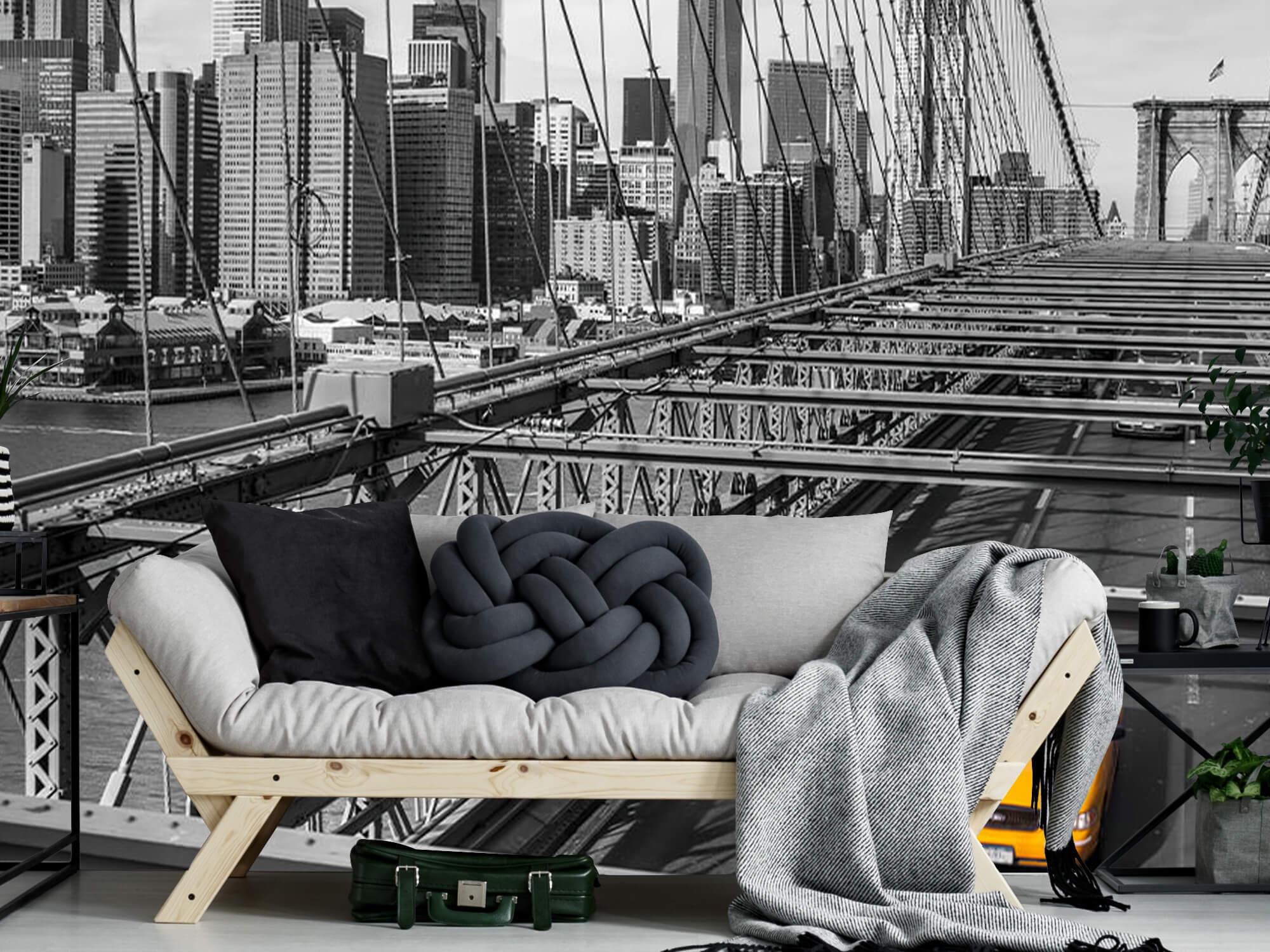 Un taxi sur le pont de Brooklyn 7
