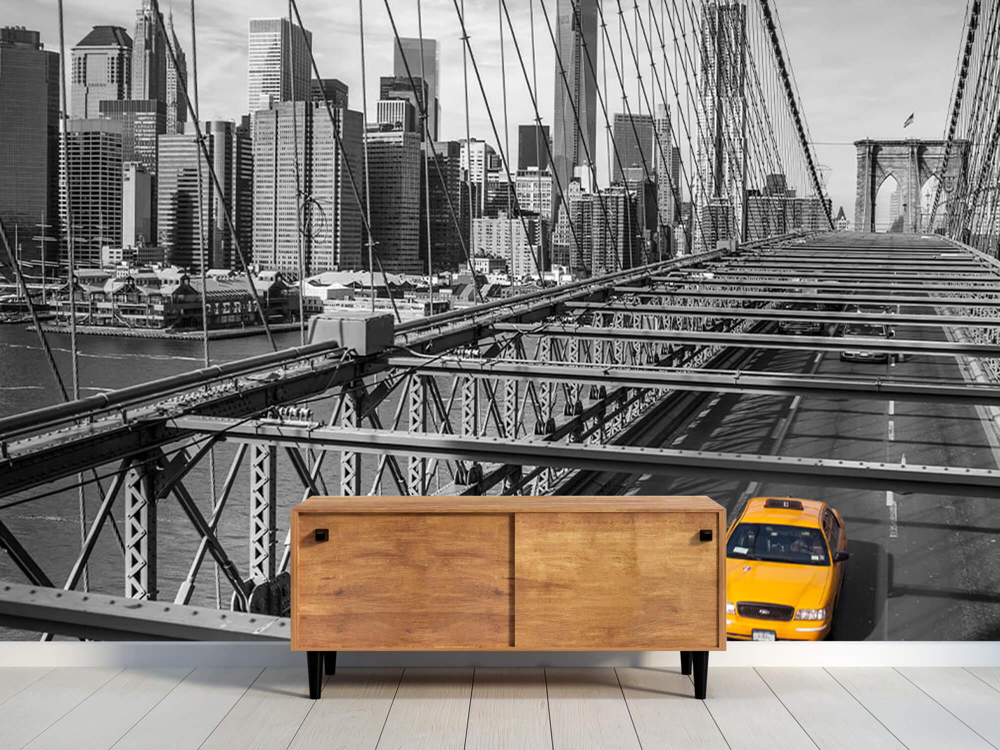 Un taxi sur le pont de Brooklyn 11