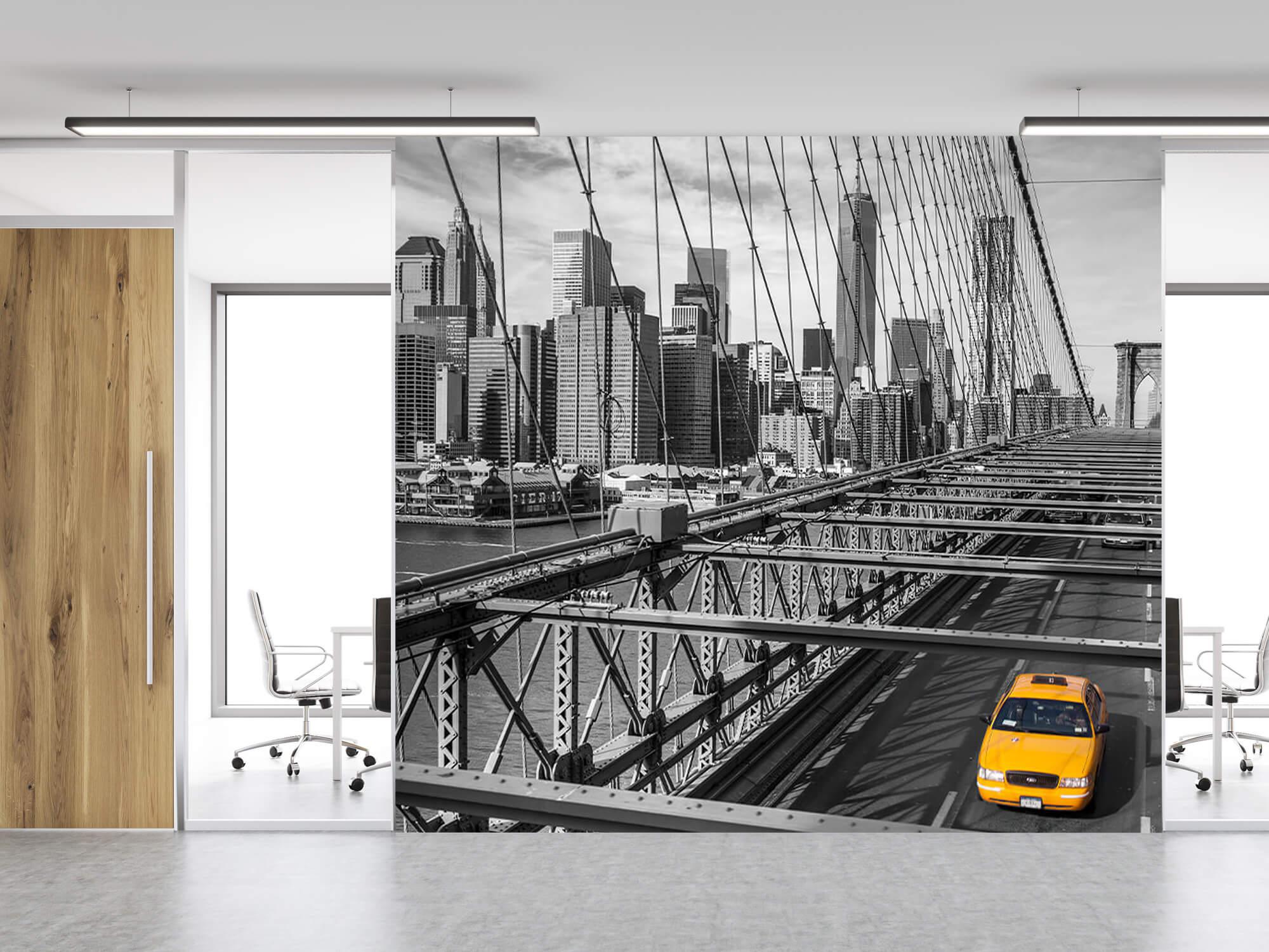 Un taxi sur le pont de Brooklyn 8