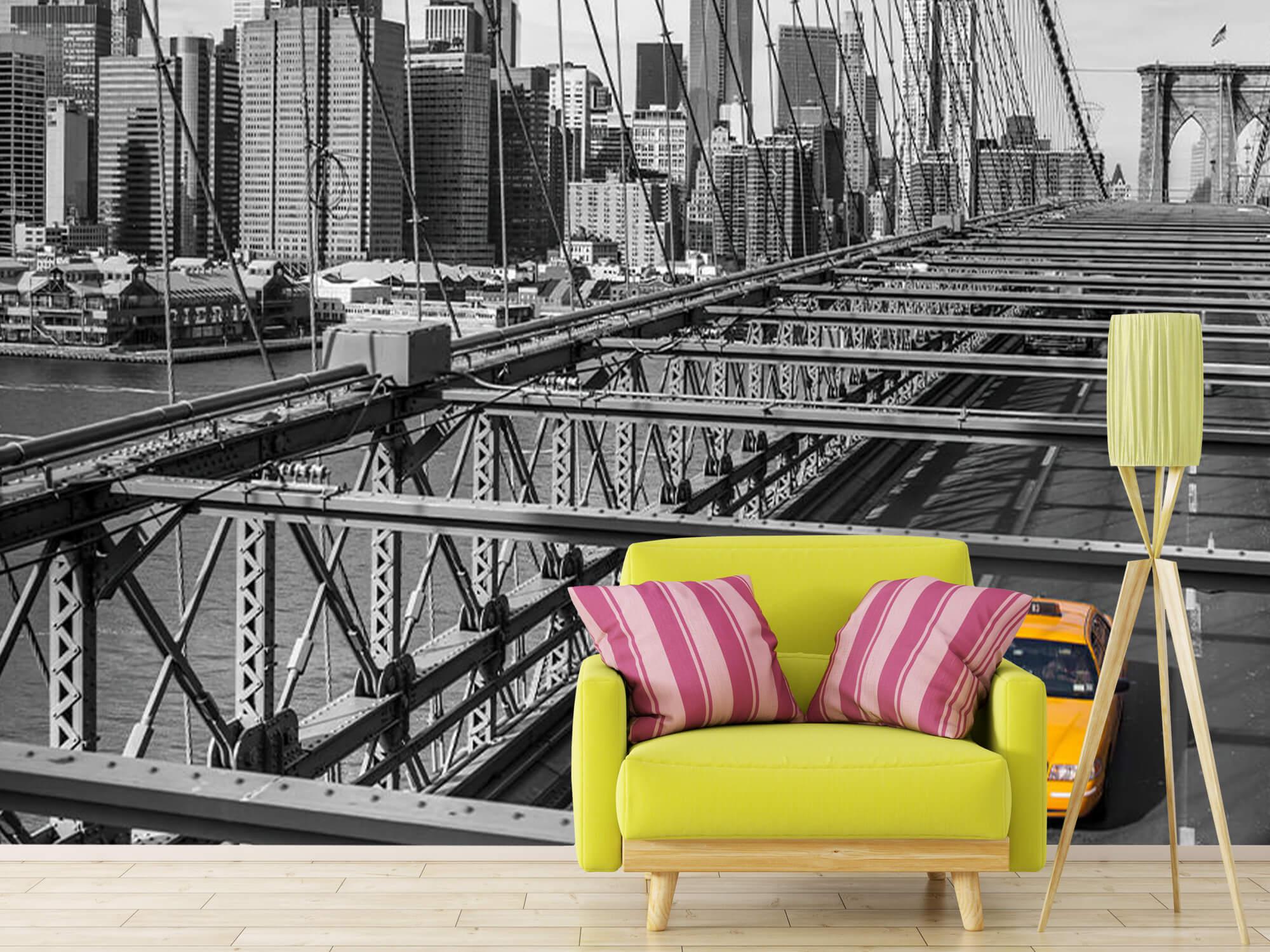 Un taxi sur le pont de Brooklyn 12