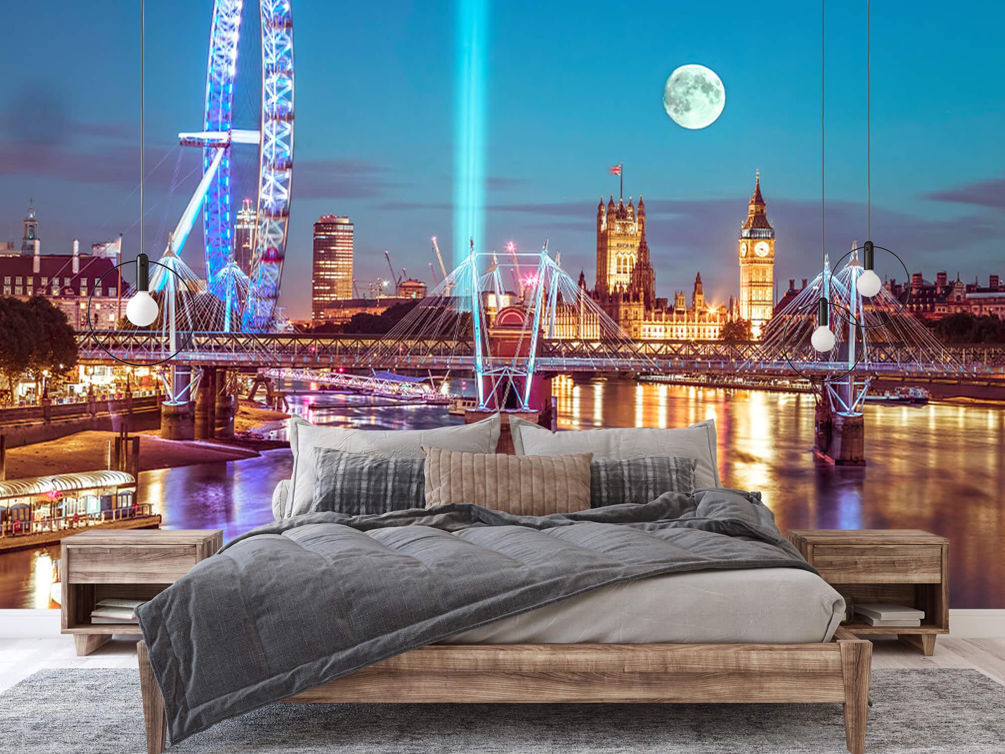 Westminster et la pleine lune 3
