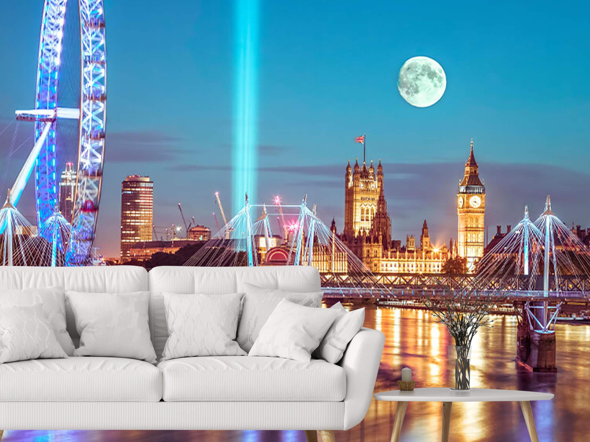Westminster et la pleine lune 6