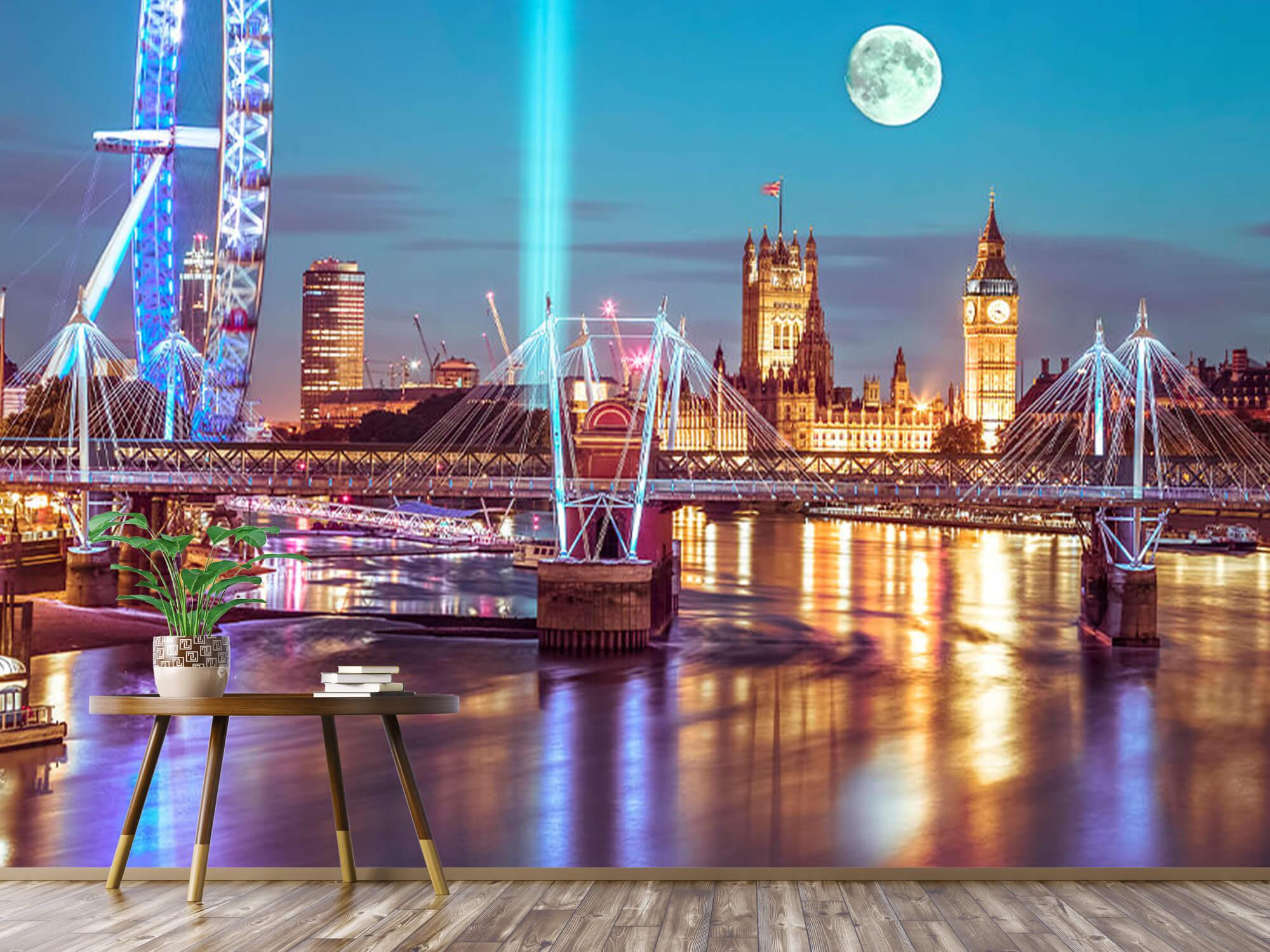 Westminster et la pleine lune 5