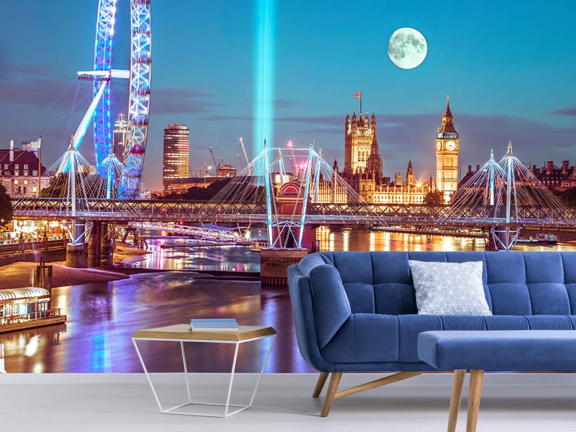 Westminster et la pleine lune 7