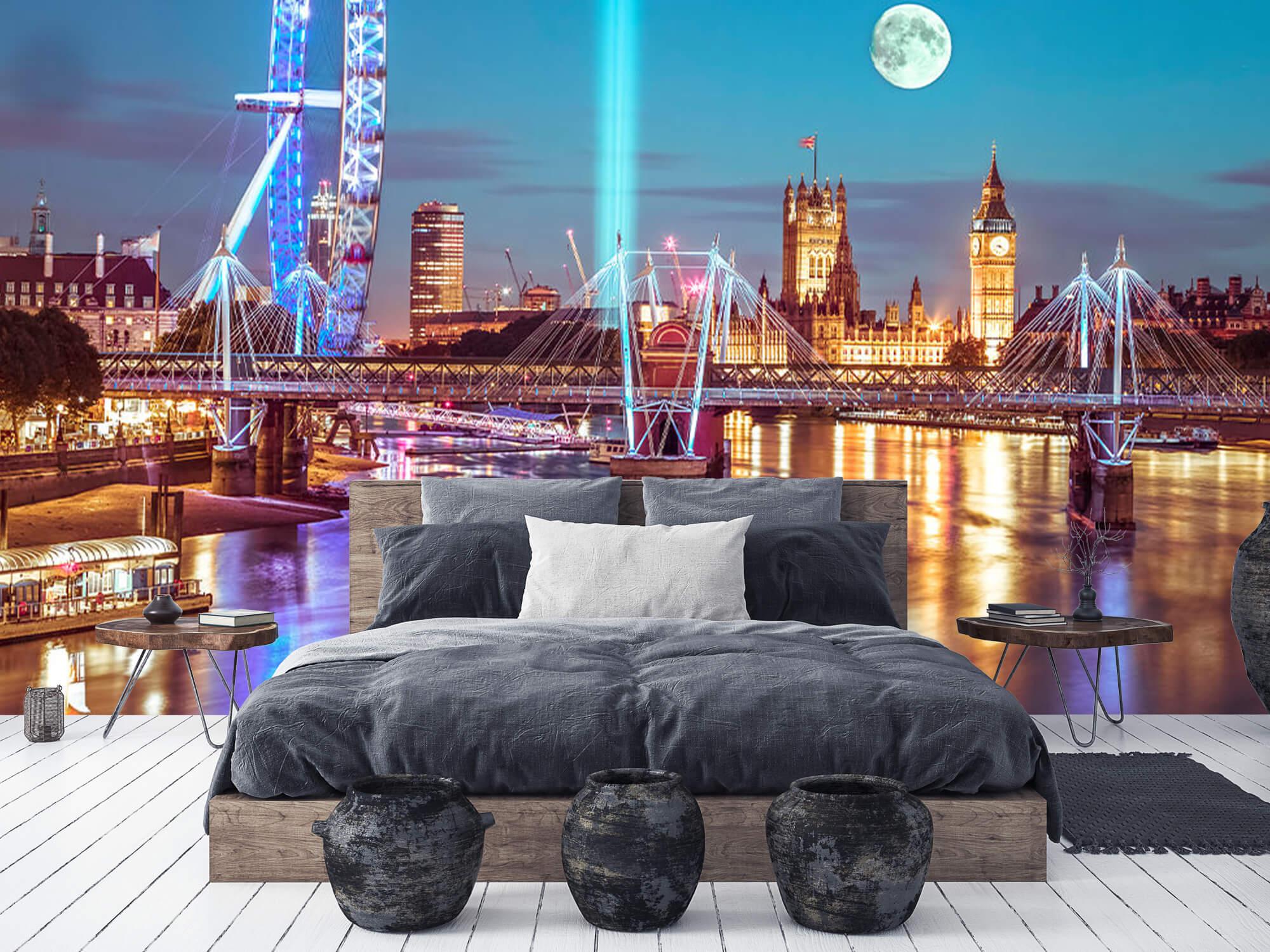 Westminster et la pleine lune 11