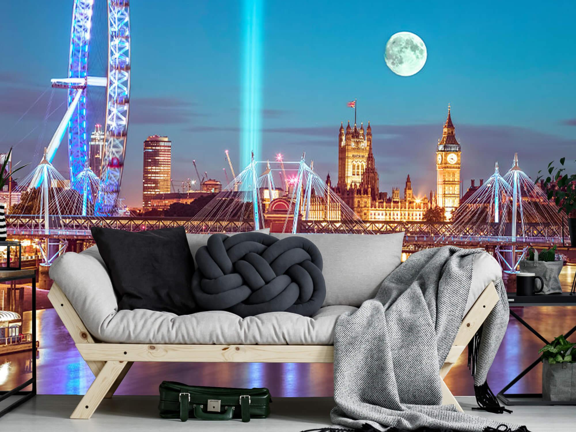 Westminster et la pleine lune 4