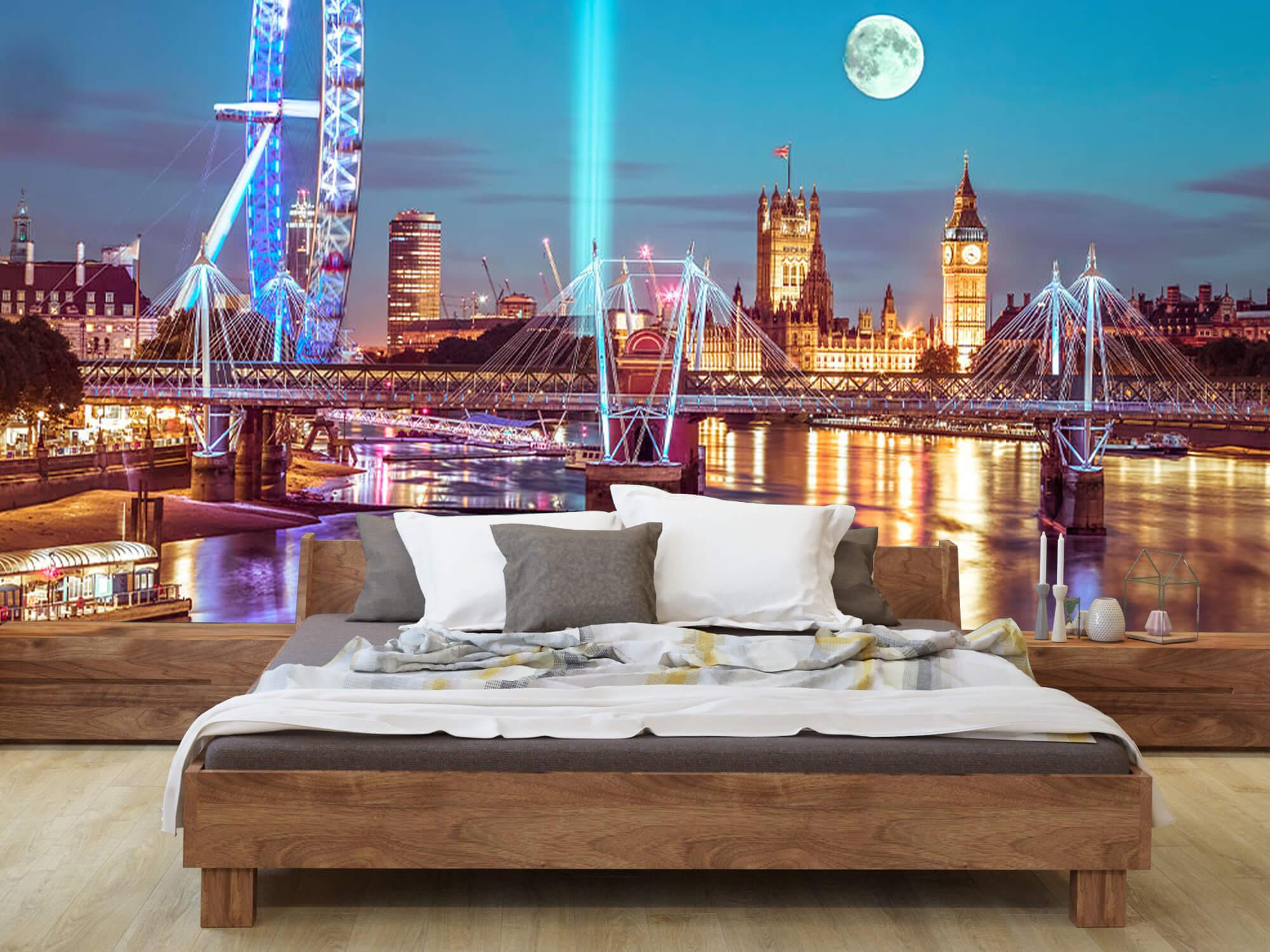Westminster et la pleine lune 13