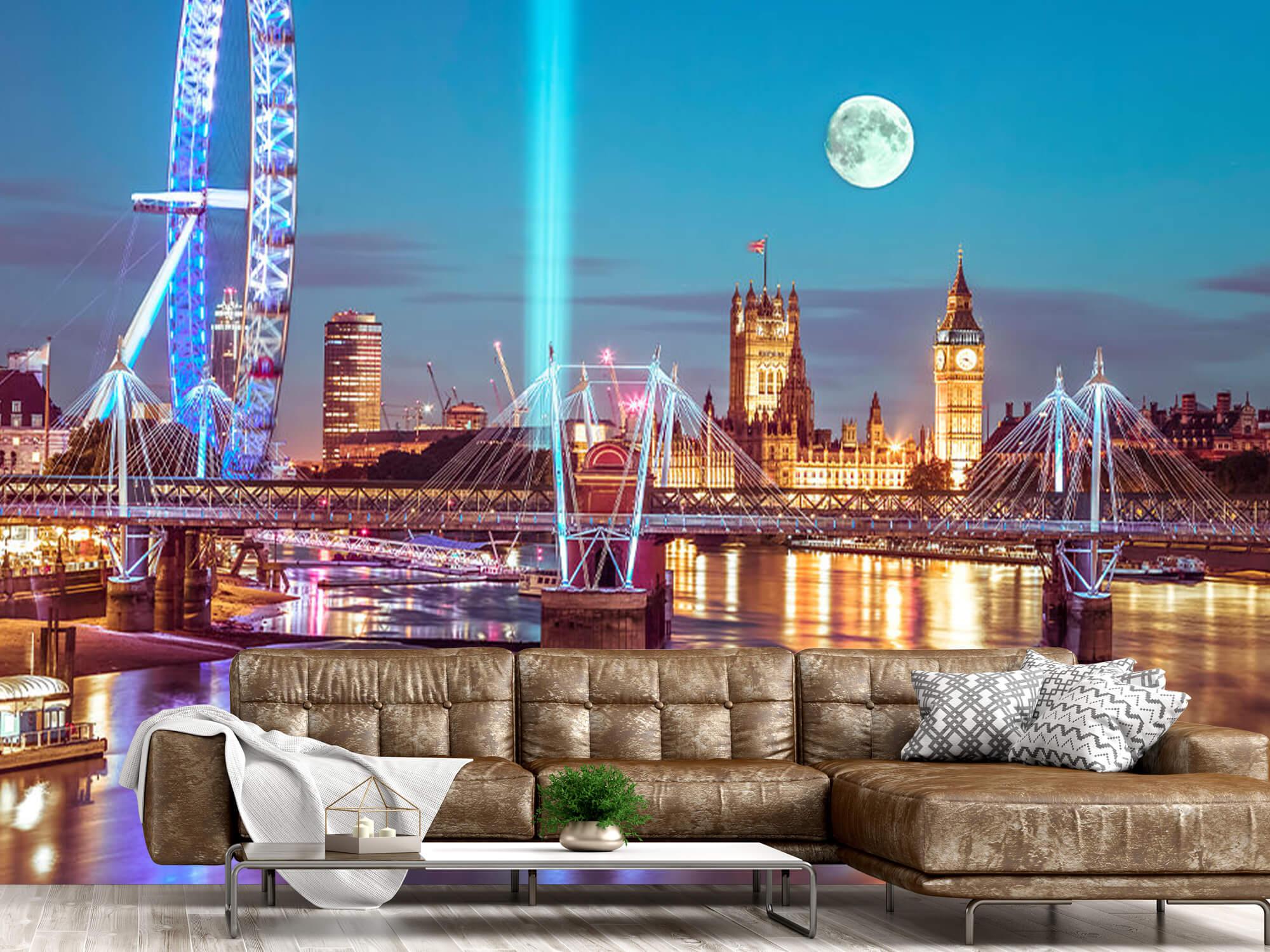 Westminster et la pleine lune 15