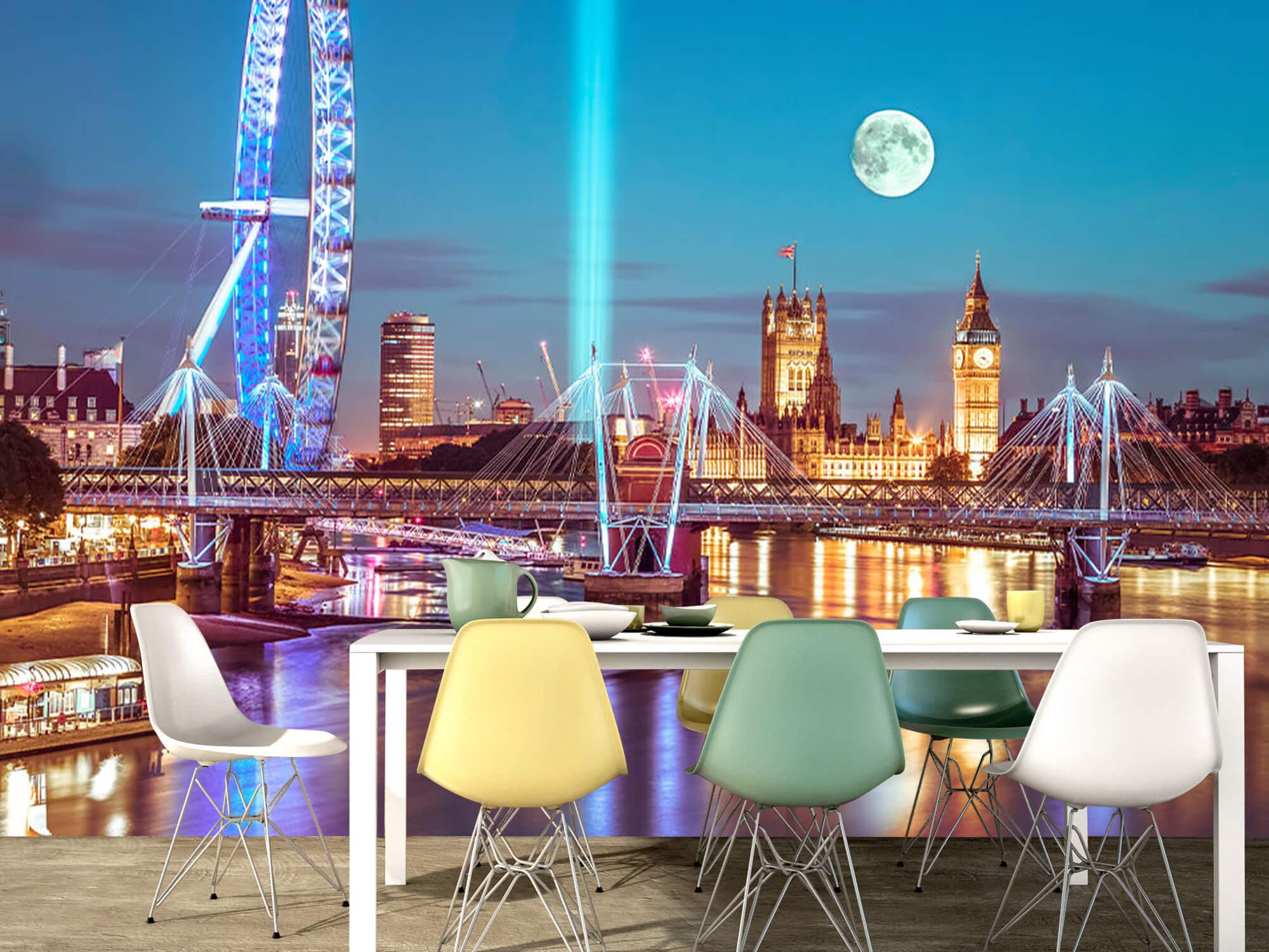 Westminster et la pleine lune 8